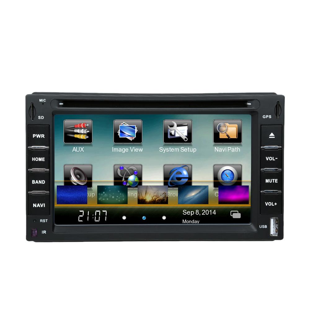 WIFI 3G 6 inch 2 Din Car DVD Players GPS Navigation Bluetooth Car Autoradio Touch Screen Multimedia for Toyota VW BMW Honda Opel(China (Mainland))