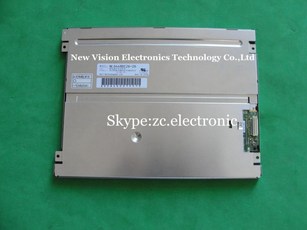 Original A+Grade 8.4 inch NL6448BC26-26 NL6448BC26-26F NL6448BC26-26D Industrial LCD Display Panel with LED Backlight by NEC(China (Mainland))