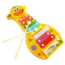 Kid Baby Musical Instrument 8-Note Xylophone Toy Wisdom Development(China (Mainland))