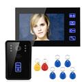 FREE SHIPPING ENNIO 7 RFID Video Door Phone Intercom Doorbell Touch Button Remote Unlock Night Vision