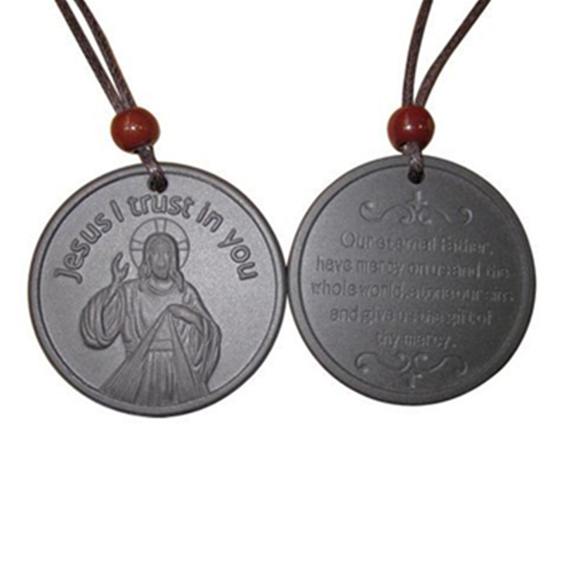 Jesus Quantum Scalar Energy Pendant Lava Ions 4000CC High Quality Charms For Parents Healthcare 10pcs/lot Free Shipping(China (Mainland))