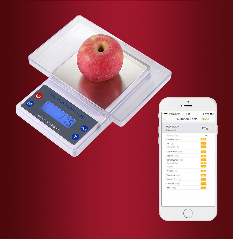 Balance nutrition promotion shop for promotional balance for Kitchen scale with app