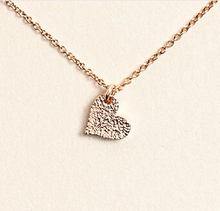 Hot Sale Sparkling heart gold Pendant necklace Heart golden18k Statement Necklace For Women Jewelry Has Infinite