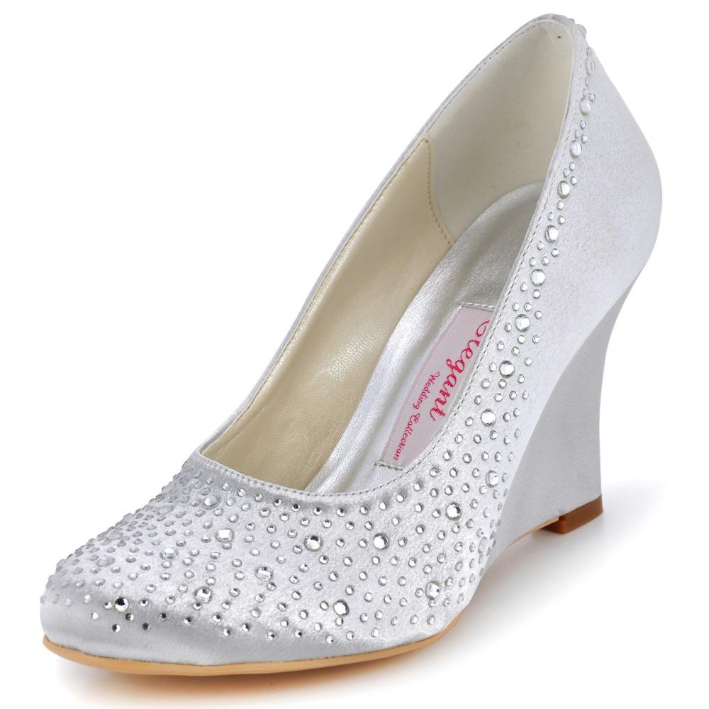 Bridal Heels Silver