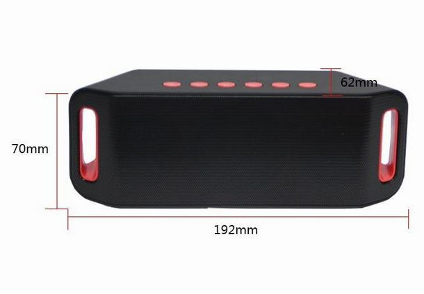 Column Portable Bluetooth Speaker subwoofer mini wireless stereo speakers altavoz sound box Caixa de som boombox(China (Mainland))
