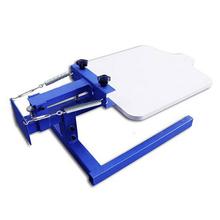 Manual 1 color Tshirt silk screen printing machine/ garment t shirt printing machine