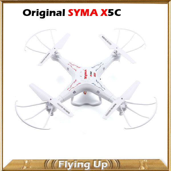 Syma X5C X5C-1 Quadcopter 2MP Camera Drones 2.4G 6 Axis GYRO HD Camera RTF RC Helicopter with Camera Wholesale Free Shipping(China (Mainland))