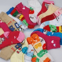 1 Pair High Quality Children Sock Retail Kids Cotton Solid Cartoon Sock Warm Pile Sock ,Cold-proof, boys girls socks(China (Mainland))