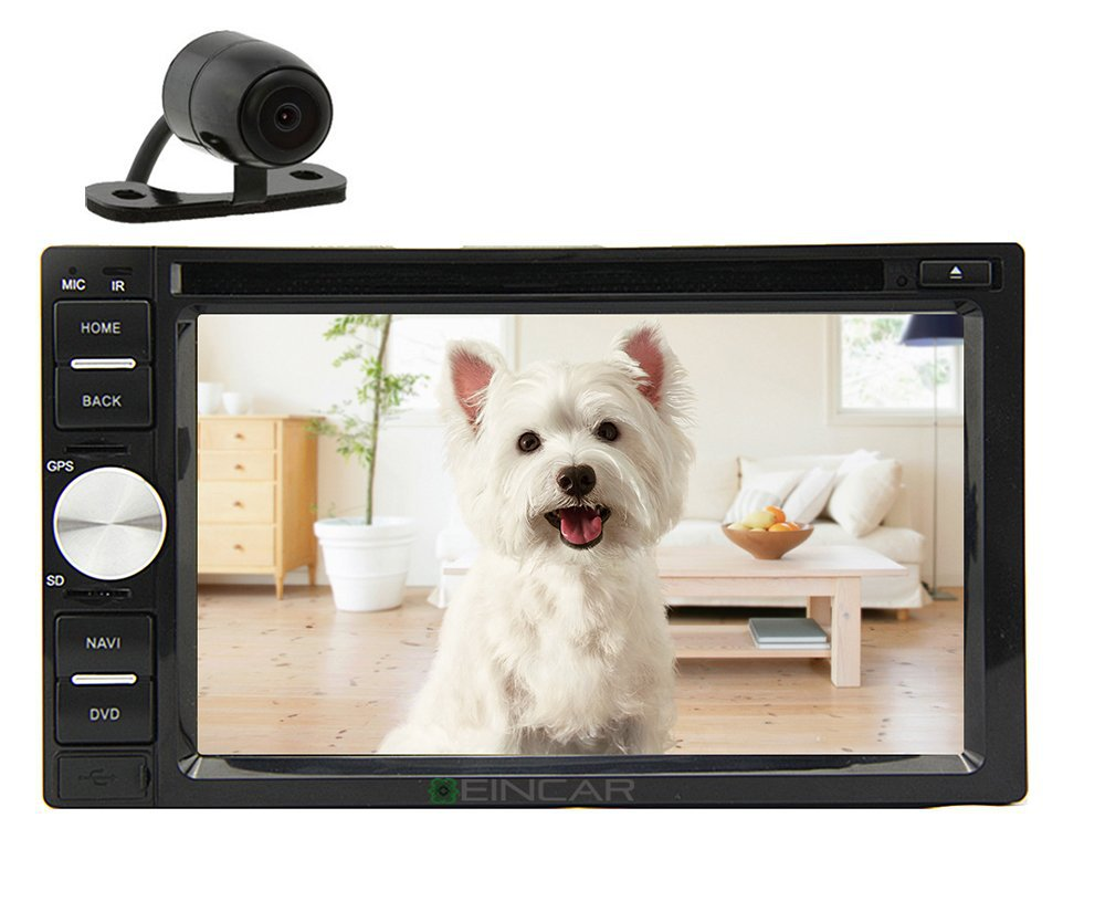 Free Backup Camera+Double 2 Din 6.2 In Dash Stereo Car DVD CD MP3 Player BT/SD/USB/FM/AM/MP3/DVD/CD<br><br>Aliexpress