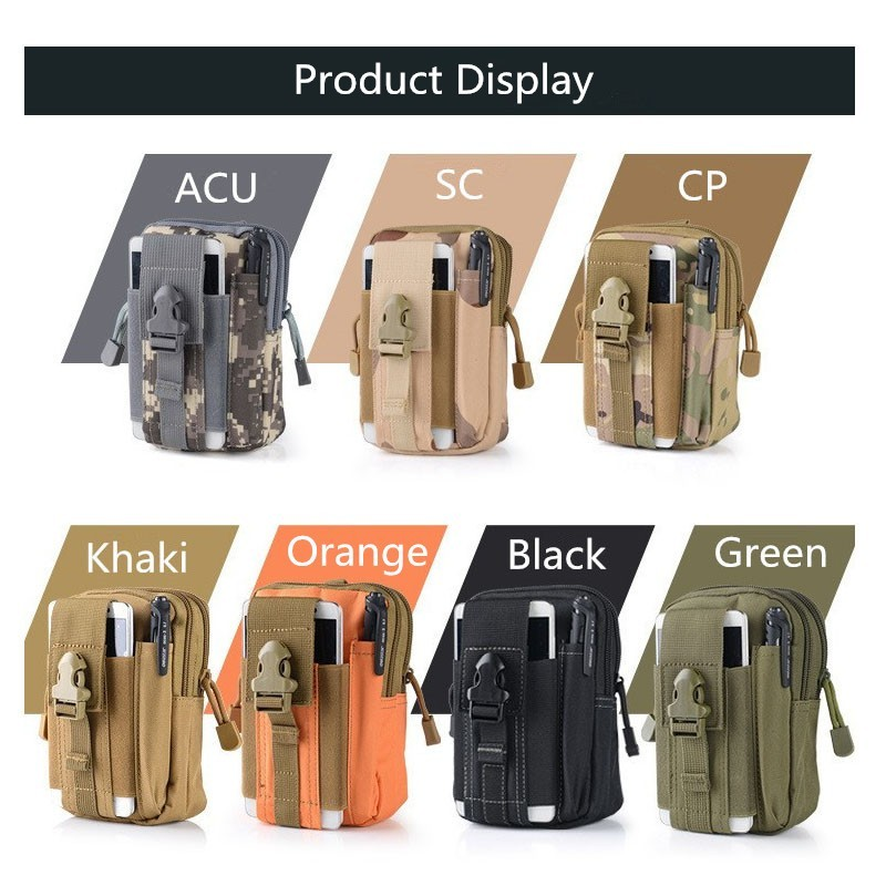 2016 Fashion Outdoor Tactical Holster Military Hip Waist Belt Spinning fabrics Bags Mobile Phone Case For C5 A8 A7 NEO J1/6S 5C(China (Mainland))