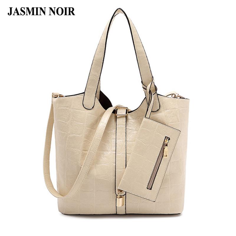 female PU leather Women handbag 2016 summer style pumping buttons handbag with purse portable ladies Shoulder Messenger bag(China (Mainland))