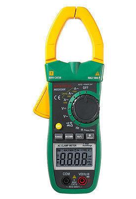 Здесь можно купить  MASTECH MS2026R 6000 Counts Digital AC Clamp Meter True RMS AC/DC Voltage Tester AC Current Detector Multimeter  Инструменты