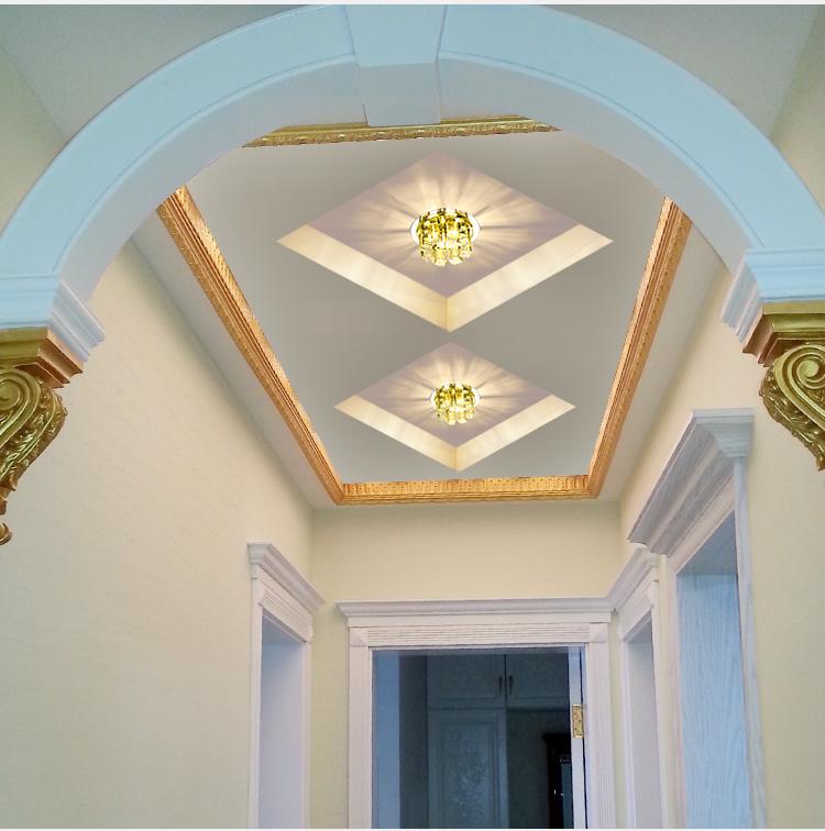 Modern Ceiling Lights Hallway : New china modern led bulbs g hallway cristal ceiling