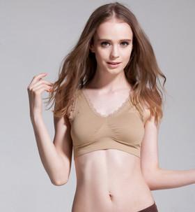 The new sexy lace movement sleep bra underwear bra gather ...