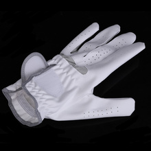 Hight Quality Breathable Golf Glove Left Hand Super Fine Cloth Soft White Size 22-26 Brand Golf Gloves HS(China (Mainland))