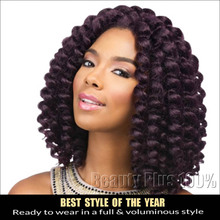 New 2X Value Model Model Jumpy Wand Curl Twist Janet Crochet Marley Twist Braid Hair Extension Ombre Kanekalon Braiding Hair