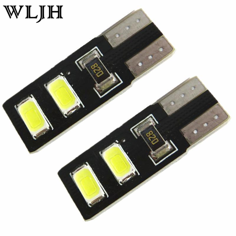 White Car LED T10 W5W Led CANBUS 360 Light Sourcing 4Smd 5630SMD Dome LED License Plate Parking Light 12V Lamp Interior Auto Led(China (Mainland))