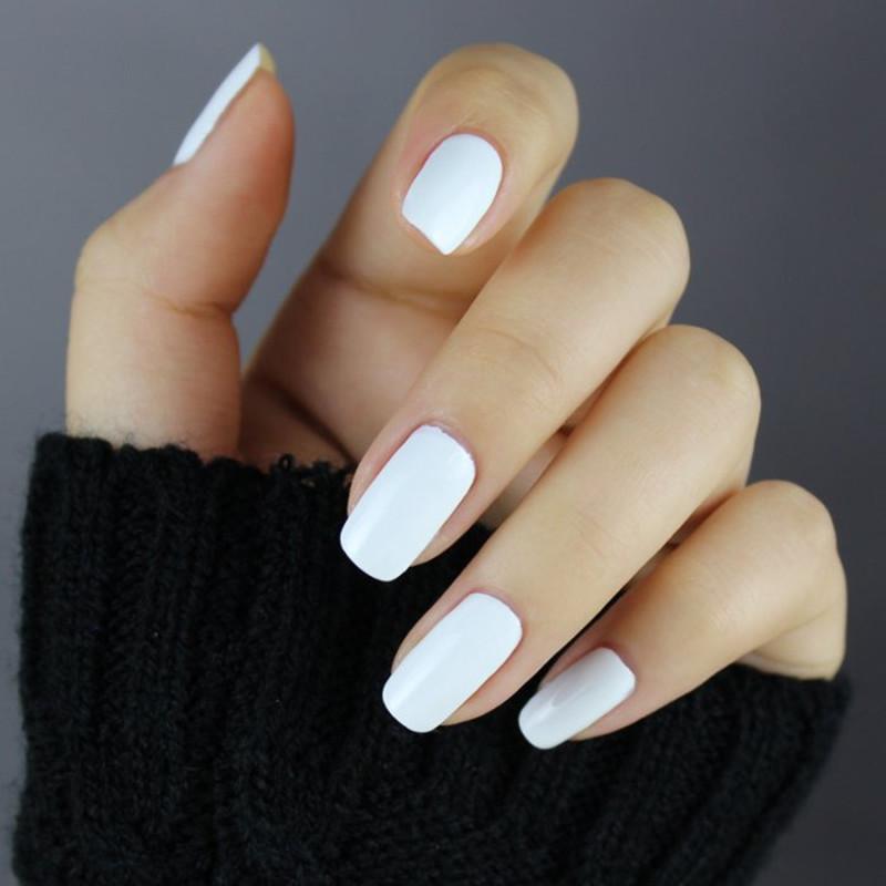 GelLen soak off White gel nail polish French nail tips uv gel varnish long-lasting led/uv gel lacuqer hot nail Gel #108(China (Mainland))