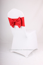 spandex chair sash,visa chair sash,chair bow(China (Mainland))