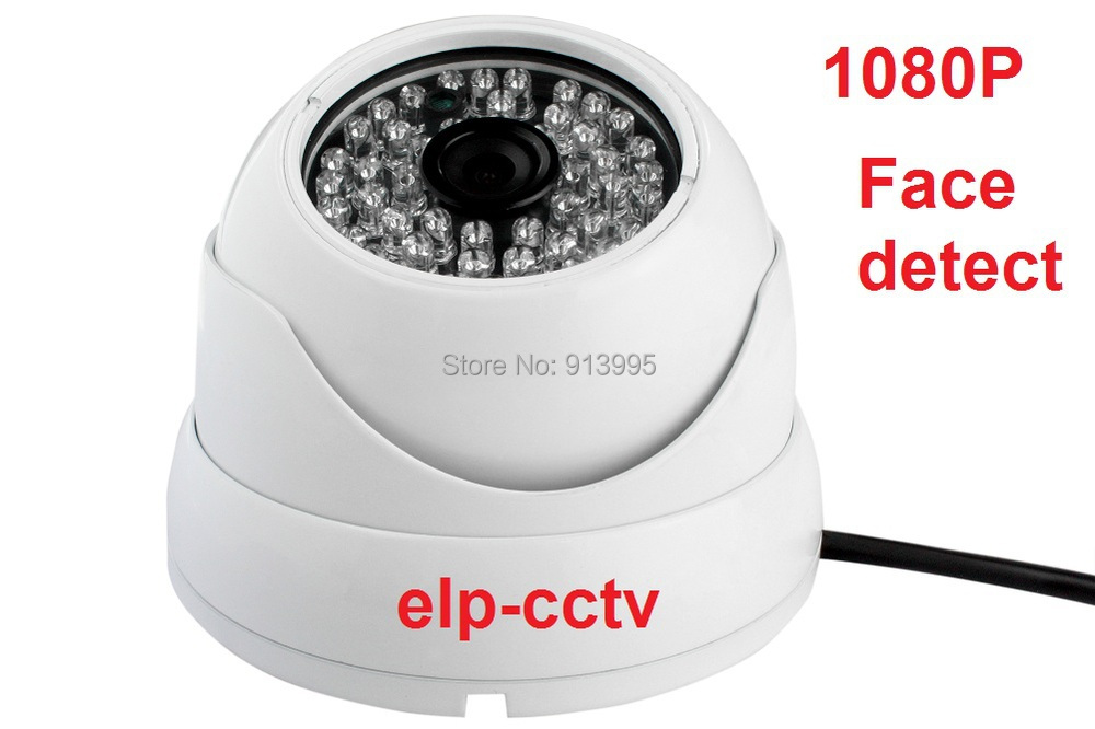 Фотография 2.0 megapixel 1080P  waterproof intelligent digital face recognition dome IP camera with face detection function