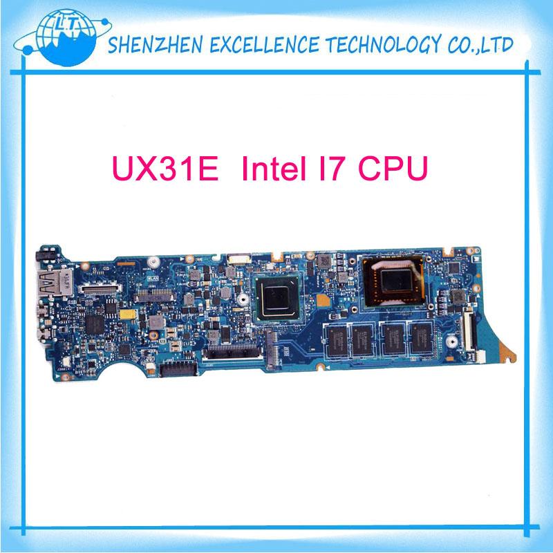 For Asus UX31E PN:60-N8NMB4C02 90R-N8NMB4C00Y Laptop Motherboard Mainboard i7 cpu 4GB RAM fully Tested(China (Mainland))