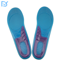 feet care 1 pair men women orthotic arch support sport shoe gel massaging insole run pad