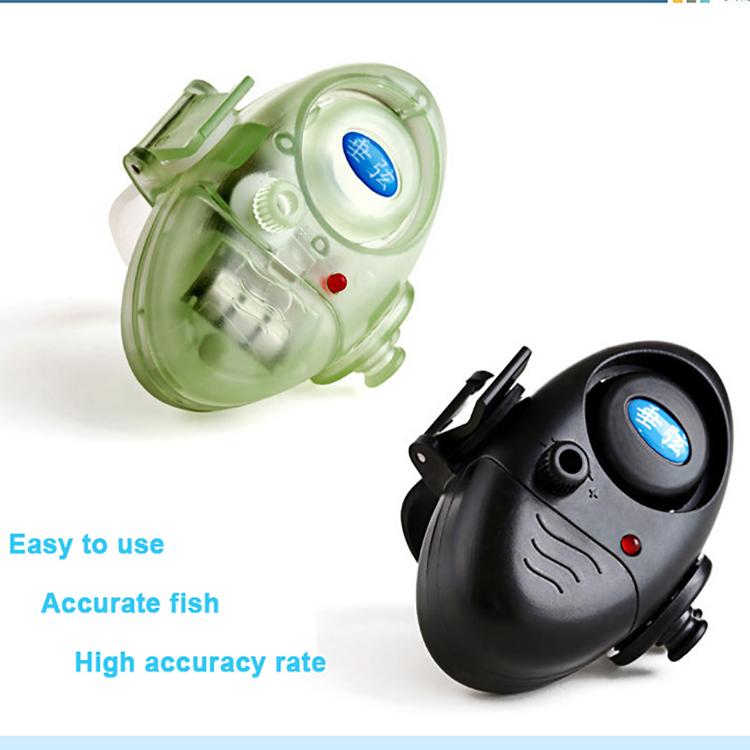 Fish Finder Electronic fishing noctilucous Fish finder Sound Bite Finder Alarm LED Light Alert Bell Clip On Fishing Rod(China (Mainland))