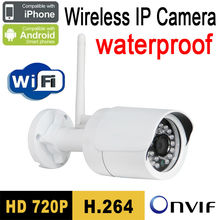 Free shipping cctv ip camera wireless 720p wifi security system outdoor video surveillance hd onvif infrared night vision ipcam