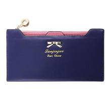 2015 New Beauty Lovely Lady Women Purse Long Zip Wallet PU Thin Card Holders CA1T