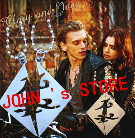 Freeshipping wholesale 20PC a lot The Mortal Instruments City of Bones Parabatai couples necklace HUANG026<br><br>Aliexpress
