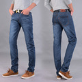 Four Seasons can wear men s fashion brand Slim Straight jeans waist Young people straight slacks