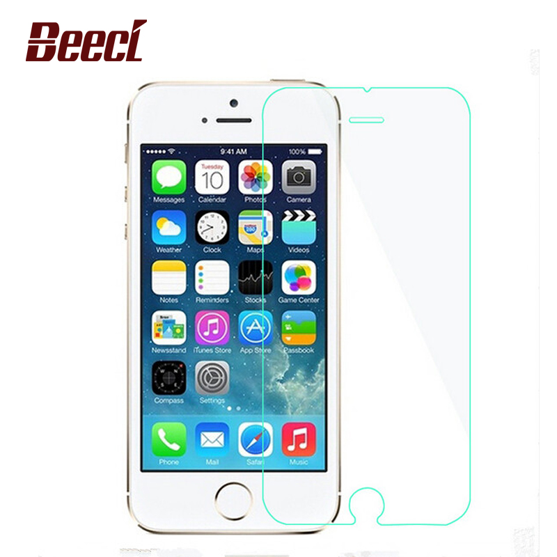 Beeci Tempered glass For iPhone 5 5s SE 0 3mm 2 5D 9H Tempered Glass font