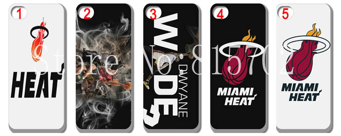 HOT! Miami heat basketball team heat hard Cover case for iphone 5 5S 5G free shipping 10pcs/lot(China (Mainland))