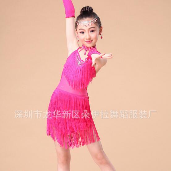 DB24026 latin dance dress-4