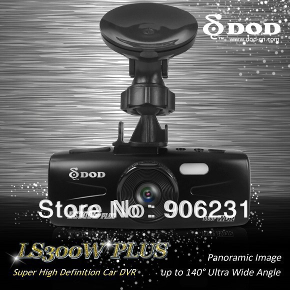 """Free shipping! Brand DOD LS300W plus 2.7"""" LCD Car DVR 1080P Motion Detect Overwrite Camera Camcorder(China (Mainland))"""