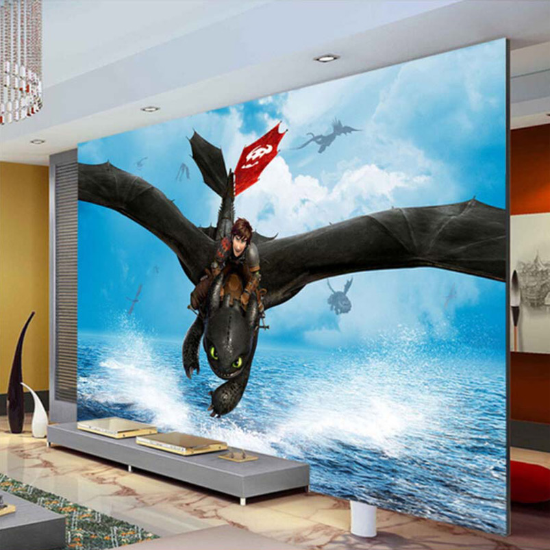 Dragon murals promotion shop for promotional dragon murals for Chinese movie mural