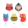 cartoon fox bee penguin owl Pen Drive full capacity 4GB 8GB USB Flash Drive 16GB 32GB
