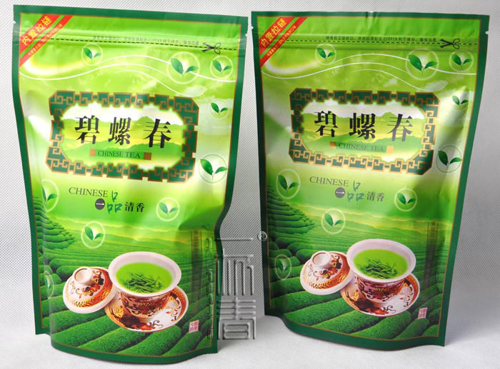 2015 Fresh Biluochun Tea First Spring green tea Peach Flavour Bi Luo Chun green tea 100g