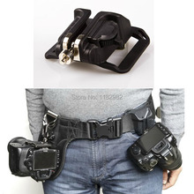 Camera Quick Strap With   Strap 1/4″ Screw Mount Waist Spider Holster Shoot Belt Buckle Button Fast for 5dii 5diii 60D