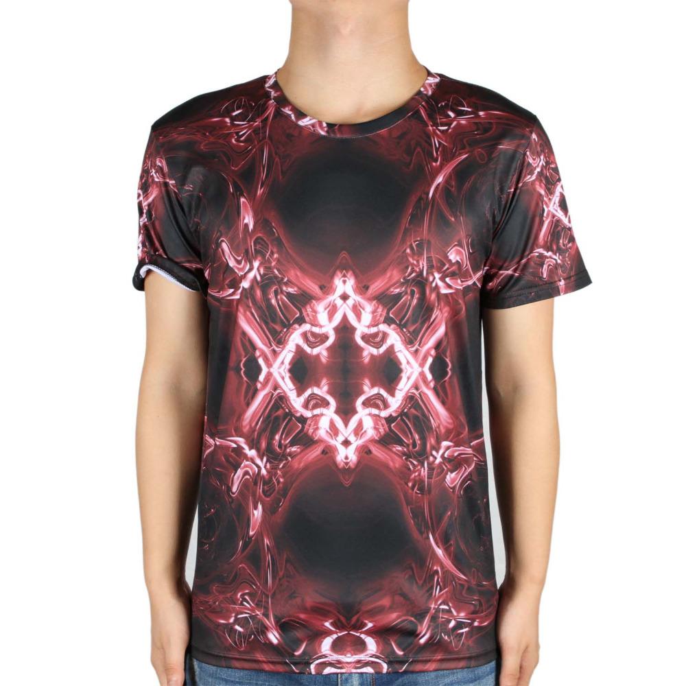Brand rendering/Line/geometry/Diamond/Digital/Cubic/Rose/Leopard/Flower Printing men 3D T Shirt fitness Male Tees Camisetas(China (Mainland))