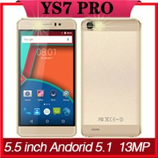 YUNSONG YS2 5.5inch Smartphone Android5.1 telephone MTK6580 Quad Core Cell Phone 512MB RAM 4GB Dual Sim 8MP Camera Mobile Phone