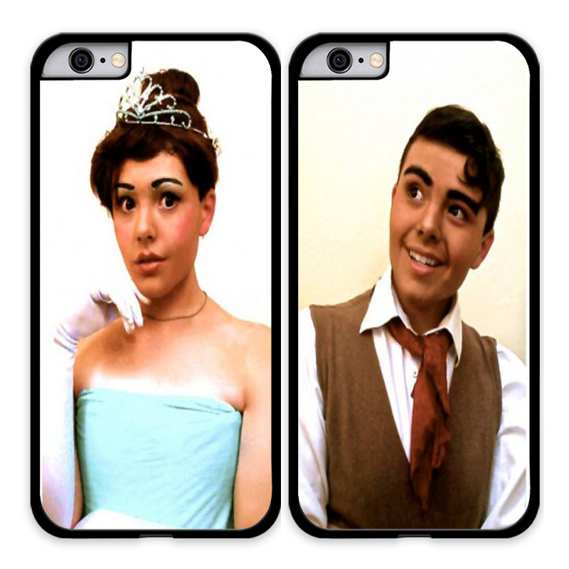 Tiana and Naveen The Princess and the Frog Couple Phone Cover For Apple iPhone 4 5 5C 6 6 Plus Cases For Samsung Galaxy S3 S4 S5(China (Mainland))
