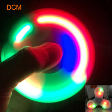 Buy HotSale LED Light Hand Finger Spinner Fidget EDC Hand Spinner Adult/Kids Autism/ADHD Relief Focus Anxiety Stress Gift Toys for $4.75 in AliExpress store