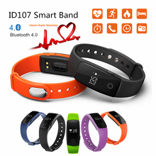 Buy Makibes ID107 Bluetooth 4.0 smart band Smart Bracelet Heart Rate Monitor Wristband Activity Fitness Tracker vs mi band 2 for $20.00 in AliExpress store