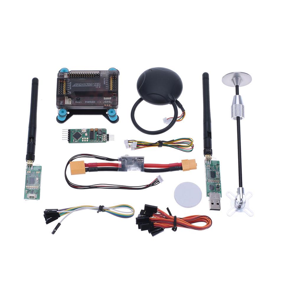 APM2.6 ArduPilot UAV Flight Controller APM 2.6+GPS w/ Compass+MiniOSD+Power Module+3DR Radio Telemetry+Shock Absorption Board<br><br>Aliexpress