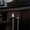 Low Promotions 2PCS Good Quality Car Adhesive Headphone USB Charger Line Auto Multi purpose Fastener Clip