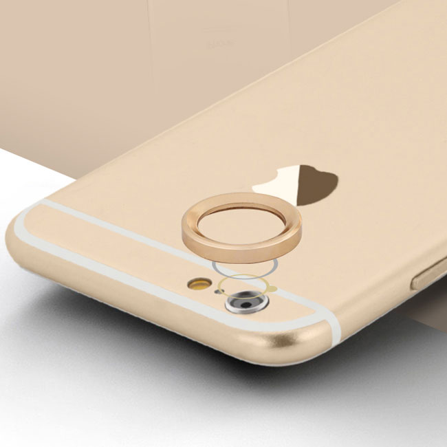 Jking 2016 New product metal lens protector Mobile phone camera protection cover For iphone 6 6s 6Plus 6sPlus Free shipping(China (Mainland))