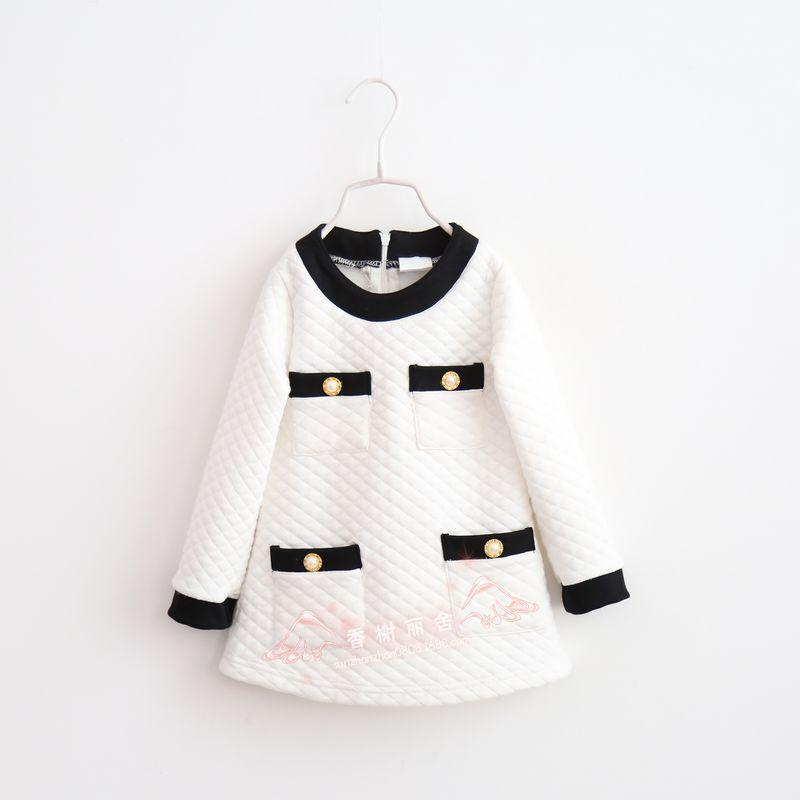 wholesale & retailhot sale baby girl dresses 2015 spring autumn kids clothing girls long-sleeve dress princess girl dress(China (Mainland))