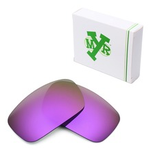 MRY POLARIZED Replacement Lenses for Oakley Crankshaft Sunglasses Plasma Purple