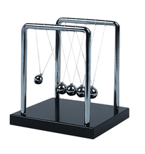 Newtons Cradle Balancing Swinging Metal Balls Physics Pendulum Science Toy Steel(China (Mainland))